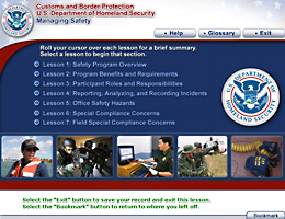 Customs and Border Protection Managing Safety